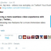 Twitter Rolls Out Video Autoplay