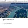 Facebook Notes'tan Blog Tadında Paylaşımlar