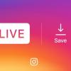 Instagram'da Canlı Yayınları Kaydetme Devri Başlıyor!