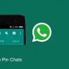 Keyifli Sohbetler WhatsApp Pin Özelliğiyle Üst Sıralarda!