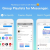 Gruplar İçin Çalma Listeleri Artık Messenger'da