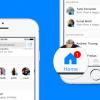 Yeni Facebook Messenger Tasarımı