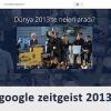 Google Zeitgeist 2013