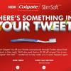 Colgate'ten farklı bir twitter kampanyası