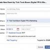 Facebook Etkinlik Sayfaları ile ilgili Yenilikler