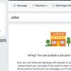 Facebook'tan İş İlanları