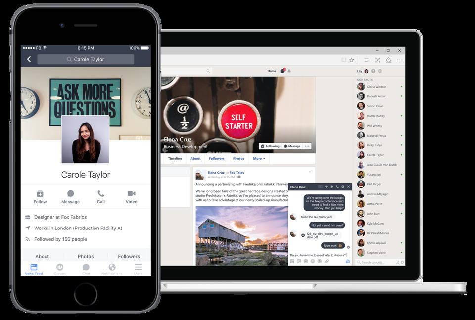 facebook-workplace-uygulama