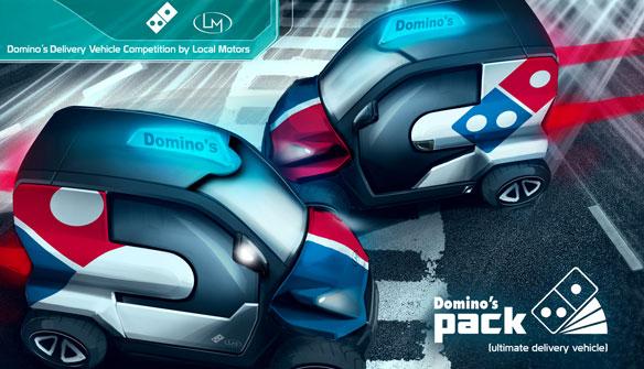 dominos pizza online yarışma