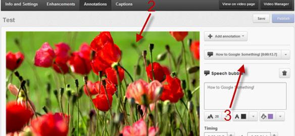 YouTube Video Ek Açıklamaları Annotations