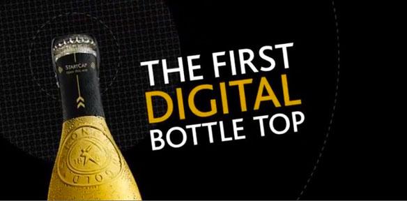 dijital şişe kapağı