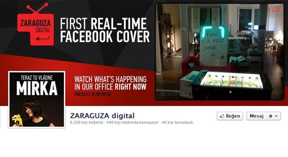 Eş zamanlı Facebook Kapak Fotoğrafı